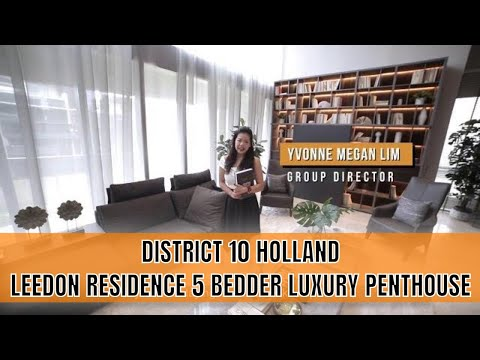 Singapore Condo Property Listing Video - Leedon Residence 5