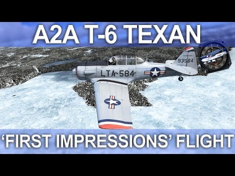 A2A Simulations T-6 Texan First Look