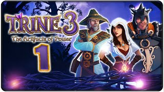 Let's Play TRINE 3: THE ARTIFACTS OF POWER Part 1: Trine in 3D!