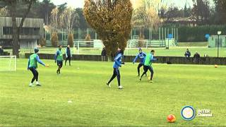 ALLENAMENTO INTER REAL AUDIO 20 11 2015