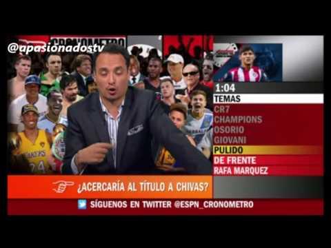 Alan Pulido podria llevar a las Chivas a ganar el titulo
