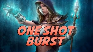 6.2 Frost Mage One Shot / Biggest Burst Tutorial by Cartoonz