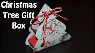 Paper Christmas Gift Box - Diy Crafts Tutorials - Giulia's Art