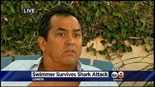 Exclusive: Swimmer Attacked By Shark In Manhattan Beach Recounts Ordeal