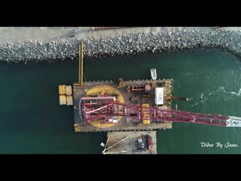 Oceanside Harbor Dredging Project 2017 (2160p@60fps)