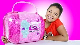 Lol Surprise BIGGER Surprise Limited Edition 60+ Surprises | Dolls Pet and Lil Sister
