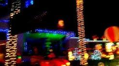 Twi-Light Christmas light display Holly Hill / Daytona Beach, Florida.