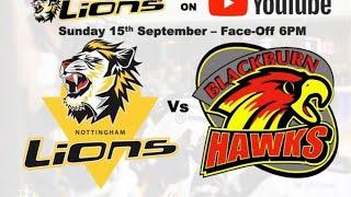 Nottingham Lions v Blackburn Hawks LIVE