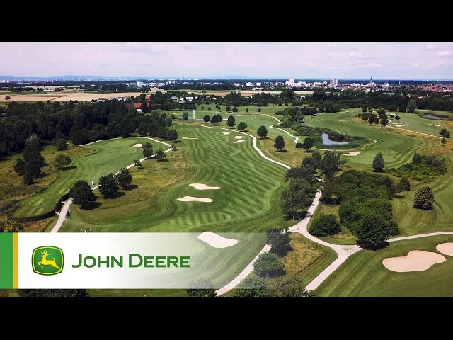 John Deere Golf products - testimonial by Rob Coombe, Gut Neuzenhof, Germany