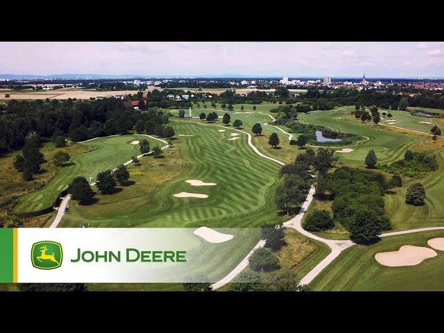 John Deere Golf products - testimonial by Rob Coombe, Gut Neuzenhof, Germany