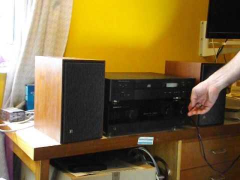 Vintage Bang Amp Olufsen Beovox 2200 Speakers Youtube
