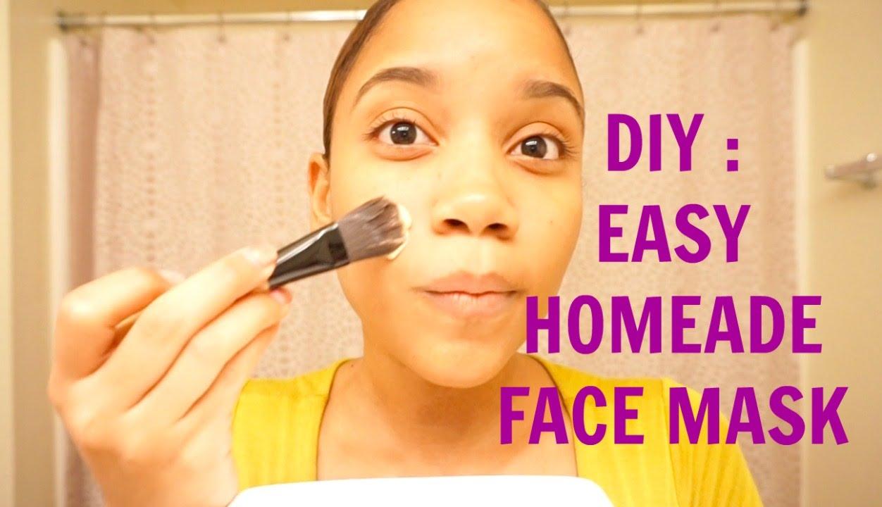 Easy Diy Homemade Face Mask