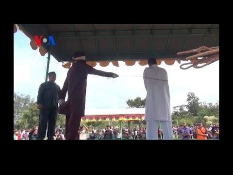 Whipped in Public: Sharia Law in Indonesia's Aceh Province (On Assignment) thumbnail