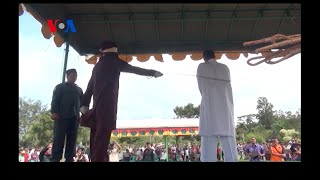 Whipped in Public: Sharia Law in Indonesia