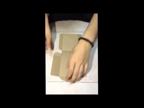 วิธีพับถุงกระดาษแบบเก๋ๆ