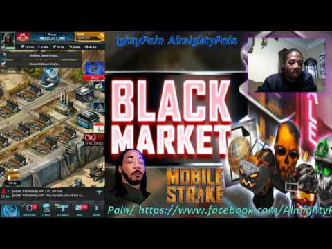 Mobile Strike Ep 252 New Black Market Building And The Epic Items