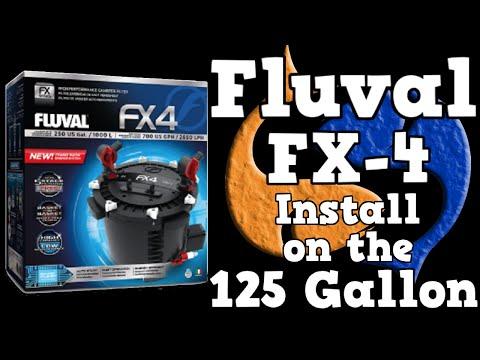 Fluval FX-4 Install for the 125 Gallon Overhaul! KGTropicals!!