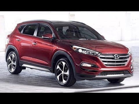 2018 Hyundai Tucson SUV. Новый Хендай Туссан