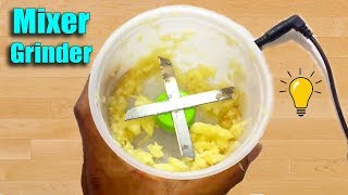 2 Awesome Life Hacks - How to Make a Mixer Grinder DIY at Home
