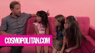 Little Girls Give Men Texting Advice | Cosmopolitan