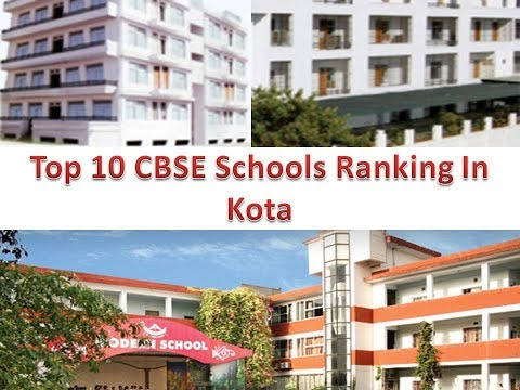 Top 10 CBSE Schools Ranking In Kota