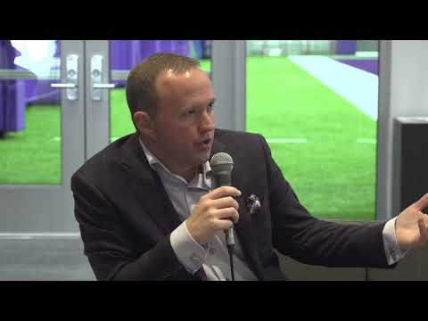 Vikings VP of Content and production Brian Harper joins PA LIVE from the Vikings new HQ