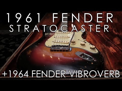 """""""Pick of the Day"""" - 1961 Fender Stratocaster and 1964 Fender Vibroverb"""