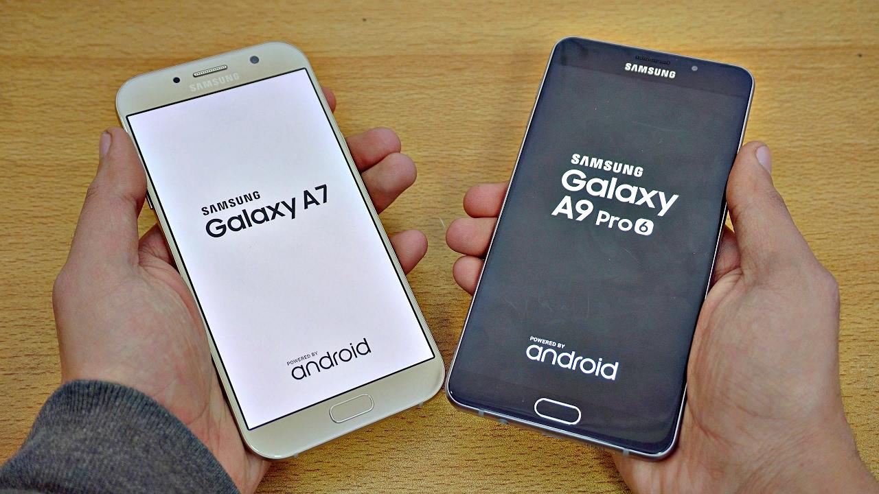 Samsung Galaxy A7 2017 Vs Galaxy A9 Pro Speed Test 4k Youtube
