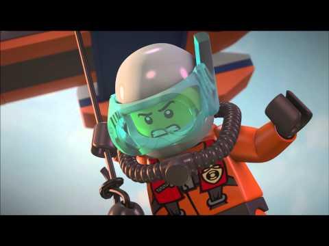 Лего сити водолазы мультфильм