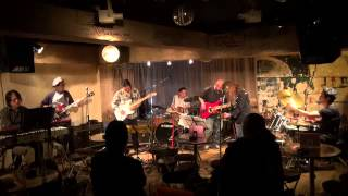 Mountain jam (4-4) Alman Brothers Band 高円寺JIROKICHI 20130202 森...