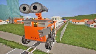MASSIVE LEGO Train Wrecks #105 - Brick Rigs Gameplay - Lego Toy Destruction | 4K EDITION