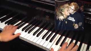 Tori Kelly ft. Ed Sheeran: I Was Made For Loving You (Piano Cover + Tutorial + SHEETS)