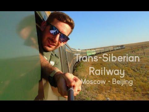 Amazing Trans Siberian/Mongolian Railway.