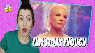 Alone- Halsey Music Video REACTION (I'm Still Confused)
