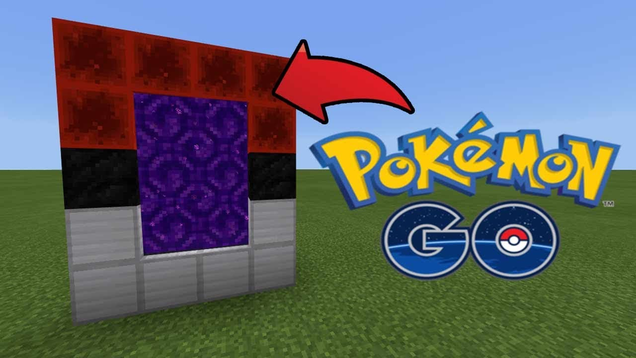 how to build a pokemon portal in minecraft