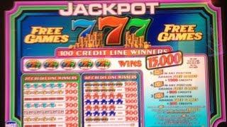 Jackpot 777 Slot Machine Free Game Bonus *** Nice Win