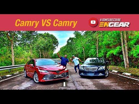 Camry VS Camry (Baru VS Lama) - Toyota Camry 2019 : Engear Review Ep38
