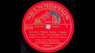 Auf den Flügeln bunter Träume / Oskar Joost & Tanz-Orchester, Gesang: Schuricke-Terzett