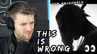 Rapper Reacts to Tom MacDonald This House (Whiteboy Response)!! | FIRST LISTEN