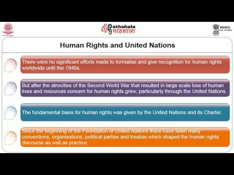 Human Rights Discourse and Education in India