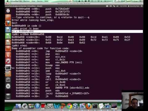 [SecurityTube.net] GDB Analysis of Poor Mans Enocoder