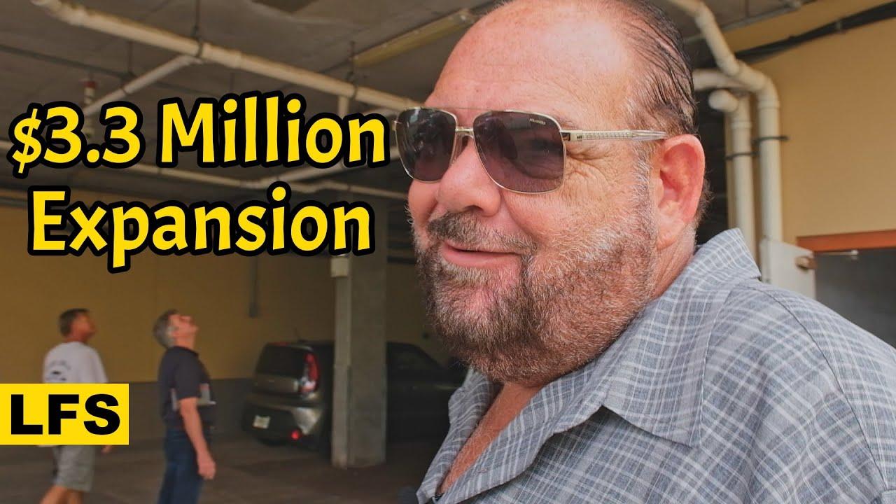 $3.3 Million Expansion