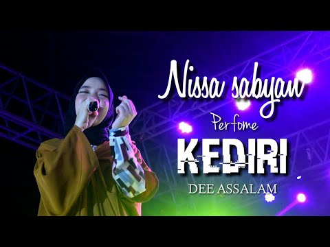 PECAH!! NISSA SABYAN Dee Assalam Live Perfome GOR JOYOBOYO KEDIRI