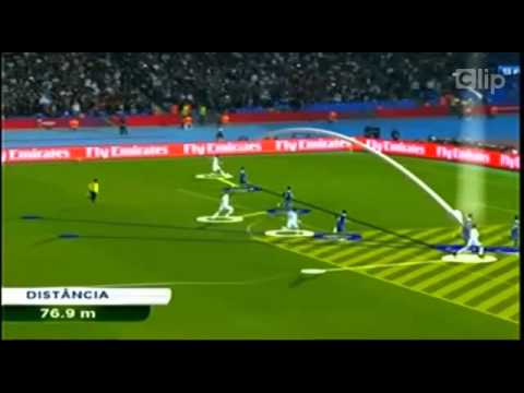 C Ronaldo chạy với vận tốc 38 6 km h trước khi thực hiện Rabona
