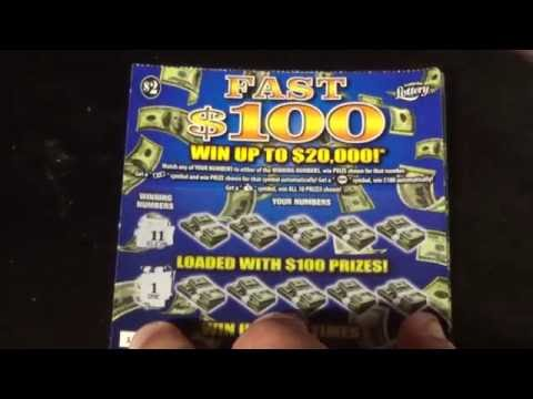 Ep. 12  NEW FL Lottery Tickets!  LUCKY 7 + FAST $100 + DOUBLE DEUCES