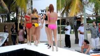 """Nikki Beach Miami """"what Women Want"""" Fashion Show Miami, Fl 11-20-2010"""