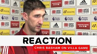 Chris Basham | Sheffield United v Aston Villa | Reaction interview