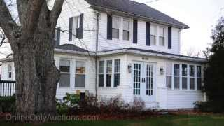Historic Home | Burtonsville Maryland | With Garage Apartment | Real Estate Auction