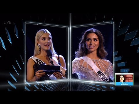 Miss USA 2018 - Top 5 Question & Answers | LIVE 5-21-18
