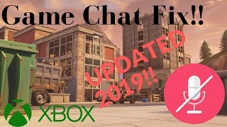 Fortnite Voice Chat Not Working 2019 *REAL FIX* Xbox